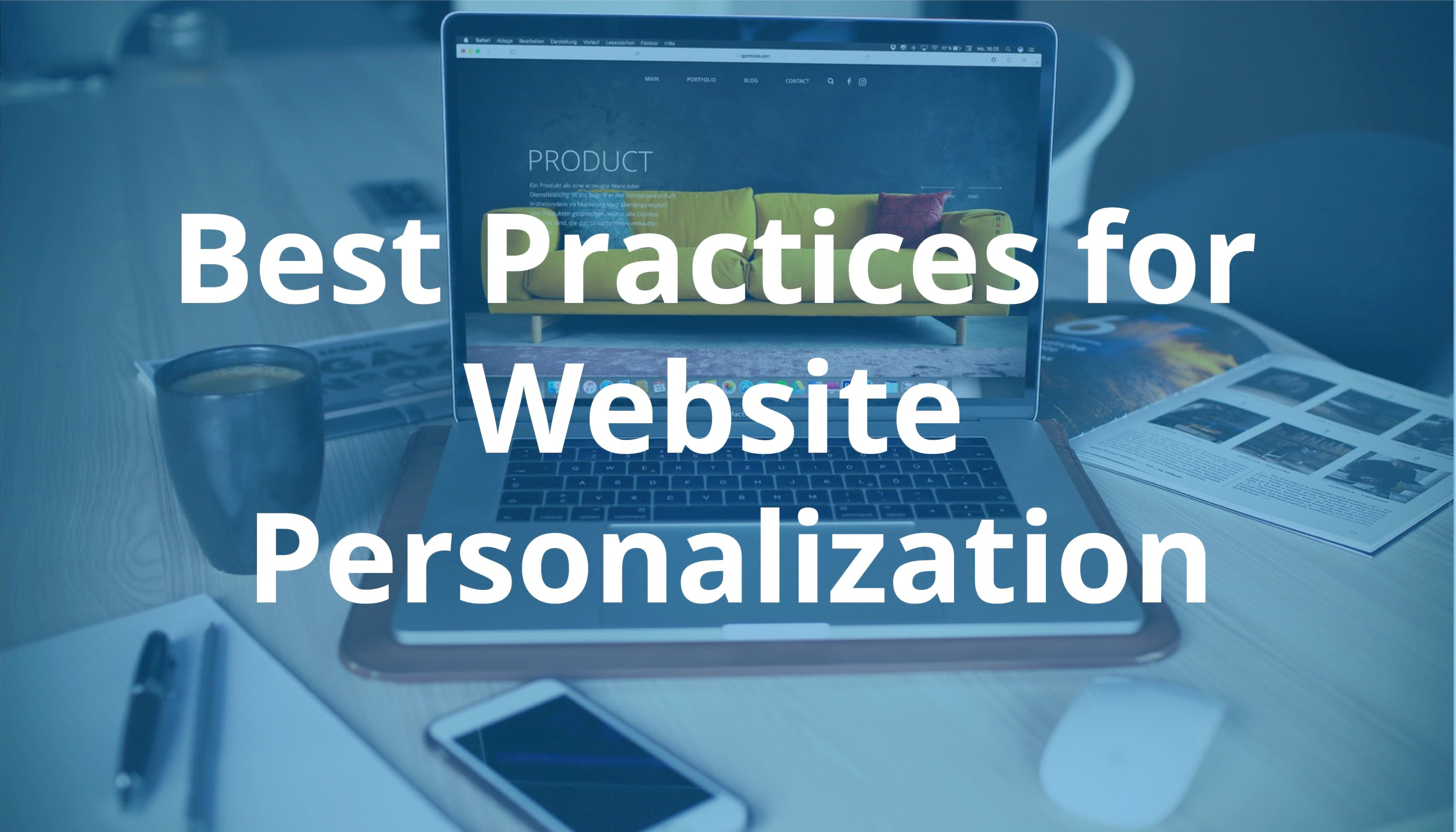 Website Personalization - Best Practices